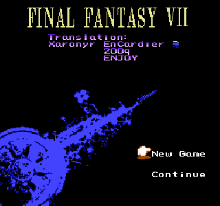 Screenshot Thumbnail / Media File 1 for Final Fantasy VII (China) (Unl) [En by Xaronyr EnCardier v0.97]